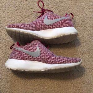 Pink Nike Roshe shoes size 8.5